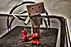 Danbo #3 (Zedock) Tags: contrast robot chili details hdr papercraft chilies danbo