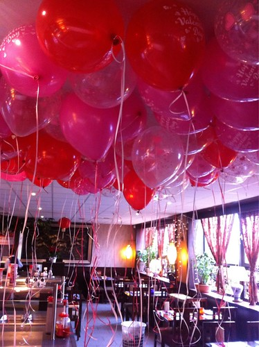 Heliumballonnen Ballonnenplafond Valentijnsdag Pak Boli Spijkenisse