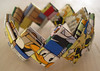 Donald Duck bracelet (Freya Willemoes-Wissing) Tags: paper handmade bracelet recycle donaldduck unit andersand paperstrips