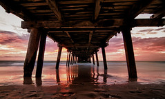 Henley Jetty (geraldlim89) Tags: sunset sea beach sand jetty henleybeach