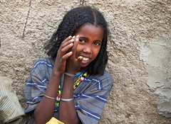 young girl harari.market harar.ethiopia (courregesg) Tags: africa traditional ethiopia tribe ethnic fille younggirl afrique ethiopie amhara