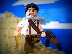 Nathan Drake (Da-Puma) Tags: 3 nathan lego tiny nate beast drake custom picnik tactical uncharted brickarms ak74u