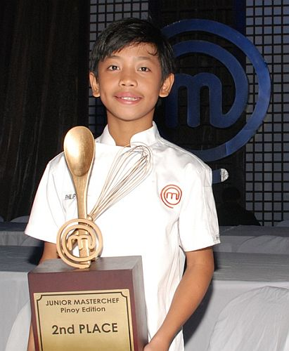 Junior MasterChef Pinoy Edition second placer Philip
