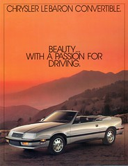 1987 Chrysler Lebaron Convertible (coconv) Tags: 87 1987 chrysler lebaron convertible mopar k car cars vintage auto automobile vehicles vehicle autos photo photos photograph photographs automobiles antique picture pictures image images collectible old collectors classic ads ad advertisement postcard post card postcards advertising cards magazine flyer p
