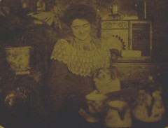 forgotten&lost 004 (:nostalgia:) Tags: old woman dog dark photo victorian forgotten forgottenlost