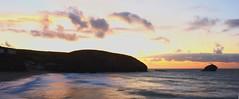 Portreath (Mark Curnow Photography) Tags: sunset sea beach sand cornwall surf waves kernow portreath gullrock markcurnow