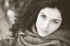 Beauty (B@rbar@ (Barbara Palmisano)) Tags: winter portrait woman beauty donna eyes occhi parma inverno ritratto ragazza servizio fotografico wwwbarbarapalmisanocom