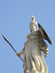 Athena Parthenos (Keith Mac Uidhir  (Thanks for 3m views)) Tags: statue europe european goddess hellas athens greece grecia atenas athena griechenland grce athene hy  athen grcia griekenland yunanistan  athnes atina grekland grecja  atene     athny   grgorszg ecko    yunani  lp   gresya