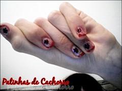 Patinhas (CassiLoveRock) Tags: unhas nailart unhasdecoradas unhadecorada