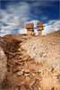 Forgotten brothers (Fernando Miguel Vicente) Tags: old travel blue summer sky orange cloud hot brick tower history abandoned industry portugal field yellow rock stone architecture canon landscape outdoors gold town high mine industrial day torre open desert outdoor earth slag digging empty working twin dump nobody pit céu dirty dirt mina mineral wreck nuvem alentejo heap quarry shaft desolation quente abandonado sãodomingos extractive ilustrarportugal sérieouro 5dmkii