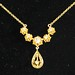 J28. Gold and Diamond  Necklace