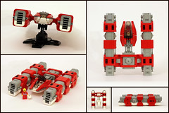 WRG Mark V Dragonfly (True Dimensions) Tags: lego racer