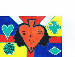 PAP-DAV-14 (moralfibersco) Tags: art latinamerica painting haiti gallery child fineart culture scan collection countries artists caribbean emerging voodoo creole developingcountries developing portauprince internationaldevelopment ayiti