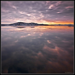 Reflections (Frijfur M.) Tags: winter sunset lake snow ice water iceland thingvallavatn thingvellir ingvellir ingvallavatn canon50d flickraward tokina116 flickraward5 mygearandme mygearandmepremium mygearandmebronze mygearandmesilver mygearandmegold mygearandmeplatinum