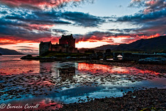 Sunset at Eilean Donan Castle (berenice29) Tags: sunset scotland nikon dornie eileandonancastle d3000 mygearandme rememberthatmomentlevel1