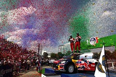 2012 WRC Rally Mexico - Podium (bestofrallylive) Tags: world auto mars car sport mexico march championship rally des wrc mexique 12 monde rallyes rallye motorsport 2012 rallying championnat