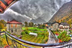 A rainy day.. (Enrico L. ) Tags: colors rain canon rainy 7d 8mm hdr valledaosta samyang arnad echallod