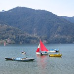 "Boats on Phewa Tal Lake <a style=""margin-left:10px; font-size:0.8em;"" href=""http://www.flickr.com/photos/14315427@N00/6986235559/"" target=""_blank"">@flickr</a>"