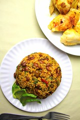 Puerto Rican Mamposteao (SeppySills) Tags: recipe beans rice traditional carribean sidedish recipes authentic arroz puertorican flavorful riceandbeans boriqua ricedish puertoriqueno mamposteao mompasteo boriquan