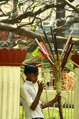 Budding Musician (Oswald King) Tags: kolkata 2012 dakshineswar 55250mm 1000d