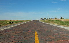 Historic Brick Road (nightrider_52 ( Ridin' 66 )) Tags: road canon route66 highway brickroad us66 nationalregisterofhistoricplaces ef24105mmf4lisusm themotherroad historicbrickroad auburnillinois