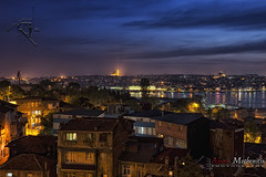 Another Land... (Alexis Methenitis) Tags: longexposure nightphotography sunset sea sky people house water clouds canon turkey spring rocks day istanbul mosque canonef1740mmf4lusm reflectons canoneos5dmkii eosdeurope