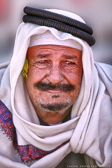Face from The Past (Sakhr Abdullah |   ) Tags: from old portrait man colors face sadness concentration eyes sad think saudi basil tradition past headband concentrate the ghutra taif
