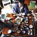 Breakfast in kotatsu