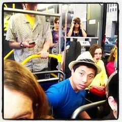 88 bus, Houston TX (hurgrace) Tags: square texas lofi houston squareformat umkc gowin iphoneography instagramapp uploaded:by=instagram