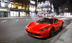 Ferrari 458 (MartijnBeekmans.com) Tags: auto london car night nikon italia shot tripod ferrari arab kuwait londen 458 knightbridge d7000