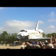 She's So Beautiful ;) #Discovery #NASASocial #NASATweetup @airandspace