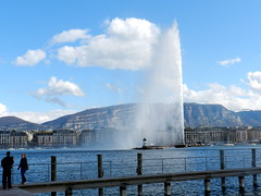 Jet d'eau, Geneva, Switzerland (ZeeTee91) Tags: switzerland geneva jetdeau
