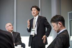 Mitsuhiko Yamashita during the meeting