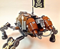 CrabiKoma (Keith_Reed) Tags: tank lego think crab walker pirate artillery gears mech haul steampunk thinktank piratelego marchikoma mechikoma