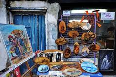 Paints and Plates (NATIONAL SUGRAPHIC) Tags: street paintings istanbul resimler sleymaniye fatih sokak sugraphic