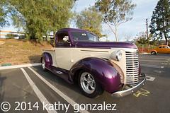 whittier_church2-5219 (tweaked.pixels) Tags: chevrolet truck whittier purpleandbeige pixelfixel tweakedpixels whittierareaclassiccarshow ©2014kathygonzalez whittiercommunitychurch