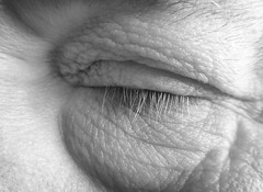 Snooz (arbyreed) Tags: sleeping blackandwhite bw eye monochrome closeup close napping closedeye macromondays arbyreed