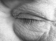 Snooz (arbyreed) Tags: sleeping blackandwhite bw eye monochrome closeup close napping closedeye macromondays arbyreed