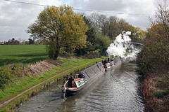 'President' + 'Kildare' Moore 3rd May 2016 (John Eyres) Tags: liverpool way boat canal dock with albert president leeds taken steam via moore preserved their narrow butty bridgewater kildare 030516