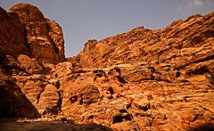 Path to the Monastery 24 (David OMalley) Tags: world city heritage rose rock stone site desert path petra siq carving unesco east jordan monastery arab middle carvings jordanian monumental jebel nabatean nabateans hewn maan almadhbah