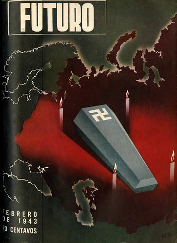Portada de Josep Renau Berenguer para la Revista Futuro (febrero de 1943)