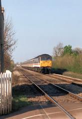 Yarnton 47 (R~P~M) Tags: uk greatbritain england train diesel unitedkingdom railway locomotive oxfordshire britishrail 47 intercity oxon yarnton