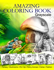 Coloring Book Grayscale