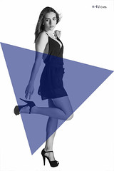 Blue shapes X (n4i.es) Tags: bw canon blackwhite model photoshoot shapes makeup jeans canon5d highkey shorts brunette blackdress bluetriangle 2016 blackheels anaperez saragonzalez n4i n4ies blueshapesacostadaanaperezbabydollblancoynegrocamacinturónclavealtaculotterojofondoblancolencerialenceriarosamorenapantalonesnegrossarasesiónshortssujetadornegrotaconesnegrostangatoplessvaquerosvestidoazuljerezdelafr