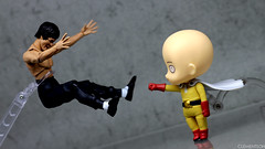 Nendoroid 575 Saitama - One Punch Man (Clement Soh) Tags: gsc brucelee bandai nendoroid shfiguarts onepunchman