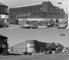 """From """"HOME & BARGAIN"""" to """"home bargains"""". (philipgmayer) Tags: 1936 curzon cinema oldswan liverpool demolished 1000"""