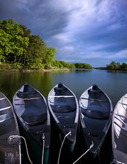 Park in Annapolis (krisleephotography) Tags: nature beauty river boats boat riverside canoe canoes serene annapolis naturalbeauty aftertherain chesapeakebay marylandphotographer mdinfocus krisleephotography