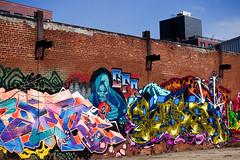 gfr graffiti (nicknormal) Tags: streetart newyork graffiti us mural unitedstates longislandcity sentinel