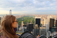 Looking at New York Central Park skyline viewed from Rockefeller Centre 70th floor (neeravbhatt) Tags: from park new york skyline looking floor centre central rockefeller 70th viewed