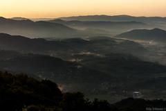 after rain () Tags: light sunset mist rain landscape down bulgaria balkan  oreshak